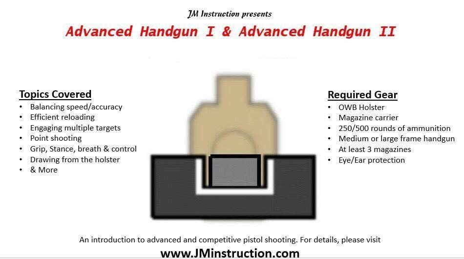 Advanced Handgun Shooting - Mansfield, MA